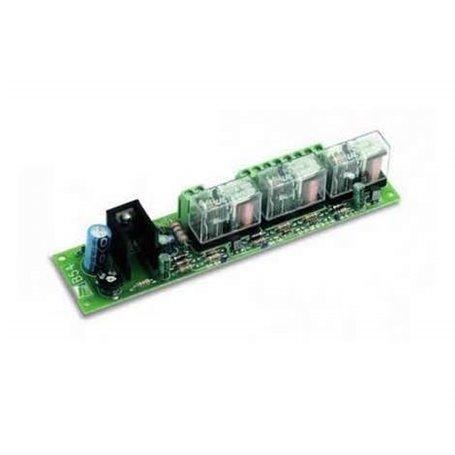 001V0670 CAME Scheda Per Collegamento Batterie Di Emergenza