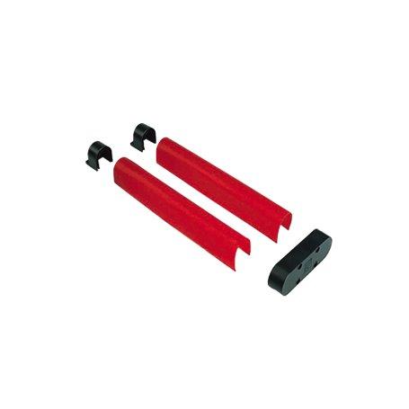 001G0603 CAME Confezione Gomma Protettiva Antiurto Rossa