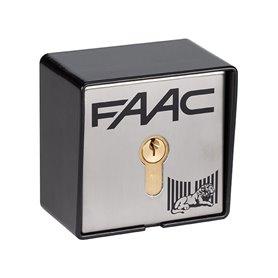 401016 FAAC T21 EF Pulsante a chiave e di comando