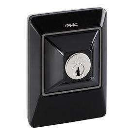 401046 FAAC XK10 B INOX Pulsante a chiave e di comando