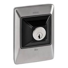 401045 FAAC XK11 INOX Pulsante a chiave e di comando 2 ch