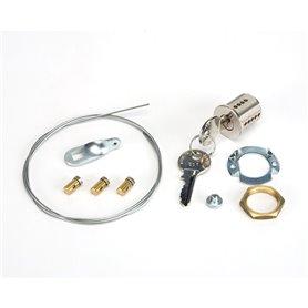 424591009 FAAC Sblocco esterno a chiave per porte N 9