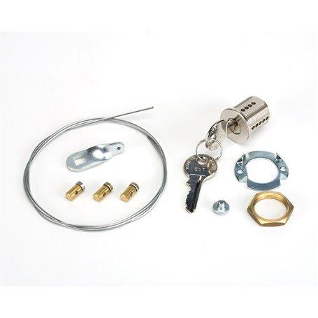 424591006 FAAC Sblocco esterno a chiave per porte N 6