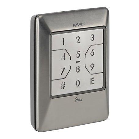 404039 FAAC XKP B INOX Combinatore a tastiera
