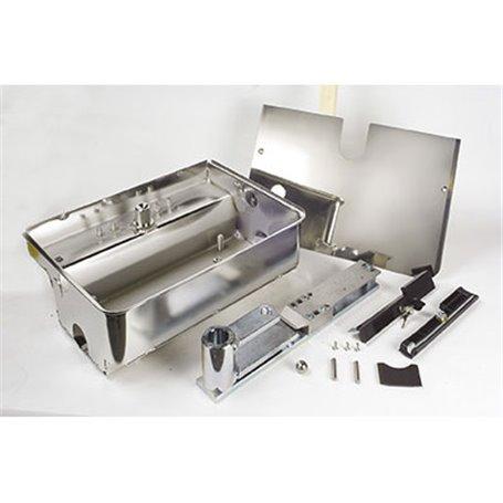 490110 FAAC Cassetta portante in acciaio inox con sistema di sblocco