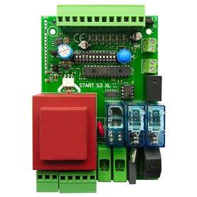 START-S3XL NOLOGO Centrale Per 1Mot 230V Scorr. Basc.+Rall+Radio
