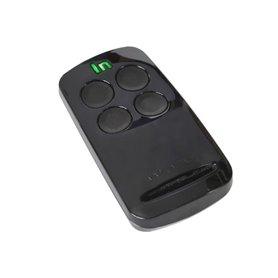 Clicker-N Integra N Radiocomando codice fisso 433 Mhz colore Nero 4 Ch