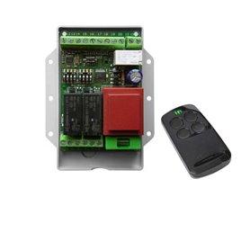 CONTROL-S1 INTEGRA Centrale per motori 230V per serrande, tapparelle e tende. Ricevente a bordo