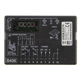 RMS435200 CARDIN Ricevitore Mini 2Ch S435 433Mhz