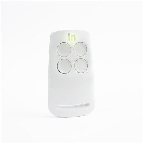 CLICKER-B Integra N Radiocomando codice fisso 433 Mhz colore Bianco 4 Ch