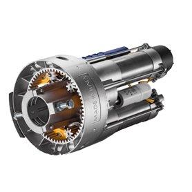 SR2.60SE CAB Motoriduttore Elettromeccanico Due Motori Con Corona In Alluminio Per Serrande Bilanciate Fino A 320Kg Completo Di