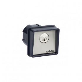 4010101 FAAC T10 Pulsante a chiave e di comando (serratura random)