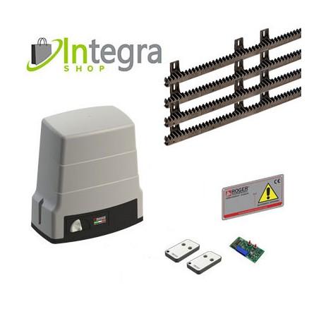 KIT PROMO ROGER by Integra Kit Motoriduttore Per Scorrevoli - 600Kg Fc Meccanico - Brushless Hs