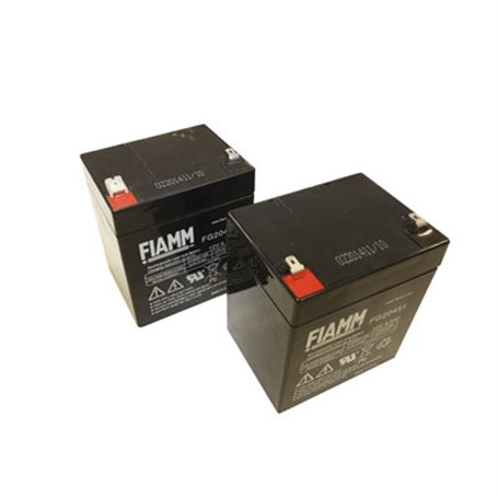 BT12V45 ROGER Coppia di batterie 12V 4.5 Ah
