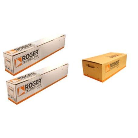 SET M20/342 ROGER Kit M20 Attuatore Elettromeccanico Irreversibile 230Vac- Corto Veloce Anta Fino A 3 M