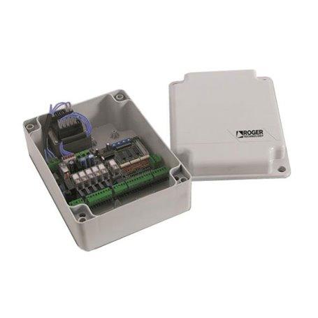 R70/2AC/BOX ROGER Quadro Di Comando Per 2 Motori 230Vac In Contenitore Plastico