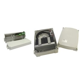 B71/BC/EXT ROGER Carica Batterie con 2 Batterie 4,5Ah Esterne
