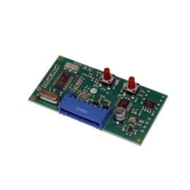 H93/RX2RC/I ROGER Radio Ricevente Rolling Code 2 Canali Ad Innesto 433,92 Mhz