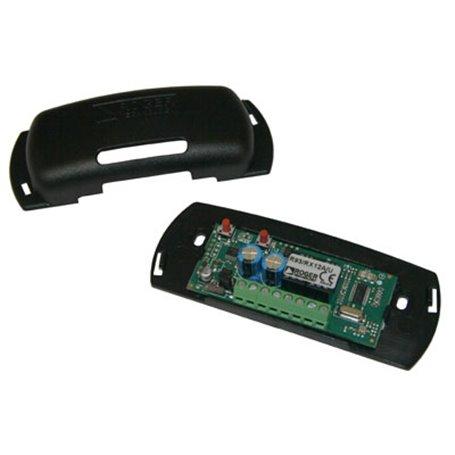 R93/RX2RC/U ROGER Radio Ricevente Rolling Code A 2 Canali 433,92 Mhz