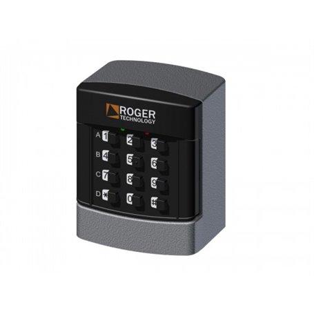 H85/TDS/TRIX ROGER Tastierino Numerico Digitale A 12 Cifre 4 Canali Da Esterno Filare
