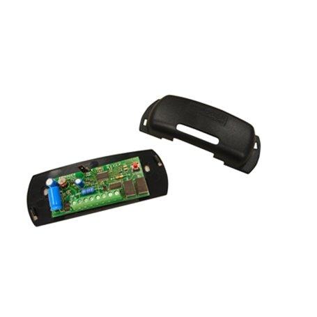 H85/DEC2/BOX ROGER Scheda decoder per selettori a tastierino a 2 canali in contenitore plastico