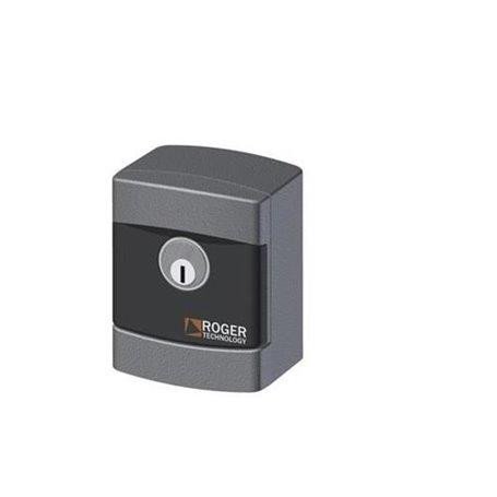 R85/60EAS/TRIX ROGER Selettore A Chiave Da Esterno In Alluminio Cilindro Standard
