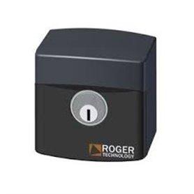 R85/60ES ROGER Selettore a chiave da esterno in plastica con cilindro standard