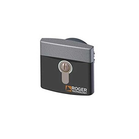 R85/60IAE ROGER Selettore Da Incasso Diametro 60 Alluminio