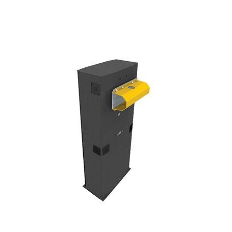 001G5000 Barriera Con Encoder In Acciaio Zincato Verniciato Con Predisposizione Accessori Completa 2 Molle