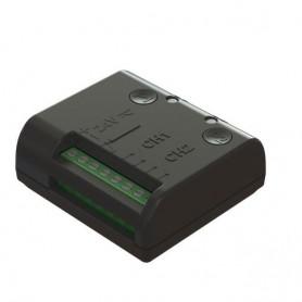 R93/RX20/U ROGER Ricevente a morsetto 2 canali, 433.92Mhz, 50 codici memorizzabili.