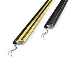 STOPPRY1000 Dispositivo di sicurezza STOP Giallo/Nero a microinterruttori stagni Lungh. 1000mm  STOP PROTO CCE