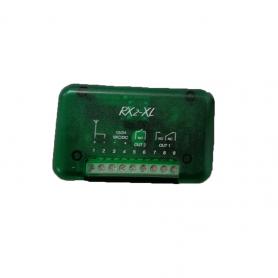 ACT-RX2 INTEGRA Ricevente bicanale codice fisso + rolling code