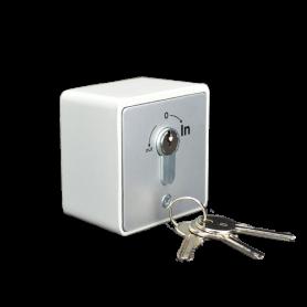 IN-SEL-E INTEGRA Selettore a chiave da parete 2 microswitch NO