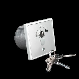 IN-SEL-I INTEGRA Selettore a chiave da incasso 2 microswitch NO