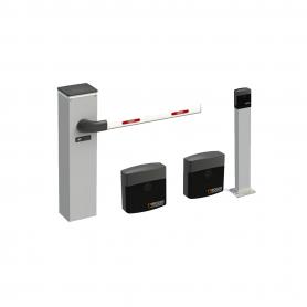 IN-BIONIK INTEGRA Kit Automazione Barriera Bionik Fino A 4 Mt Con Centrale E Lampeggiatore