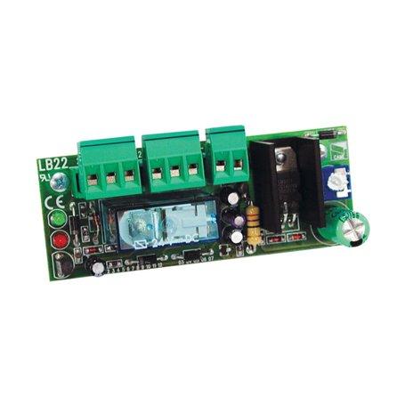 002LB22 Scheda A Innesto Per Collegamento Batterie Di Emergenza