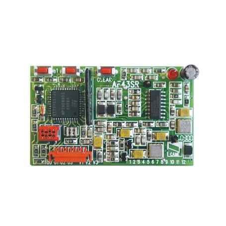 001AF43SR Scheda Radiofrequenza Ad Innesto 433.92 Mhz
