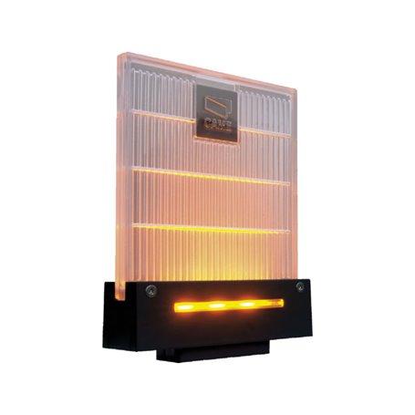 001DD-1KA Lampeggiatore Di Segnalazione A Led Color Ambra Completo Di Supporto Per Fissaggio A Parete