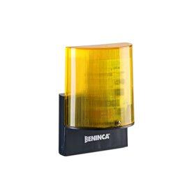 LAMPI24.LED BENINCA Lampeggiante 24 Vdc a LED con antenna integrata