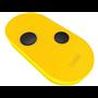 806TS-0093 Codice Fisso Due Tasti Giallo