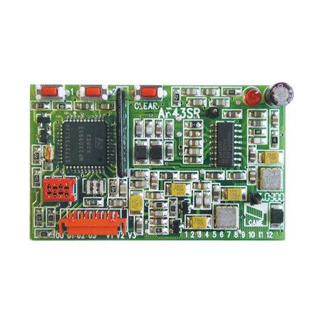 001AF43TW Scheda Ricevente Compatibile Con Frequenza 433.92 Mhz