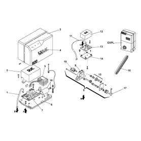 Ricambi 820 EMC Faac