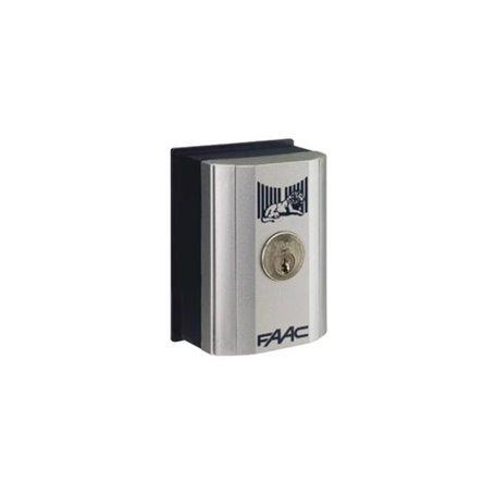 4010181 FAAC T11 E Pulsante a chiave e di comando (serratura random)