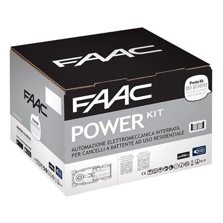 106746445 FAAC Kit Automazione elettromeccanica 230V interrata