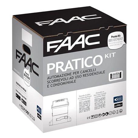 10564944 FAAC Kit Automazione 230V a bagno d'olio