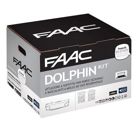 10566544 FAAC Kit Automazione elettromeccanica 24V a traino