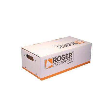 KIT G40/1005S1 ROGER Kit G40 V.S1 Centrale Comando 203Vac + Supporti E Accessori Senza Motore Guide G40, Radio Ricevemte, Tx