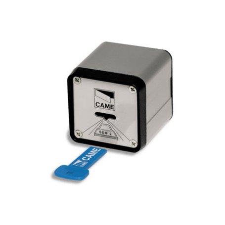 001SEM-2 CAME Lettore Magnetico Con Custodia In Allum
